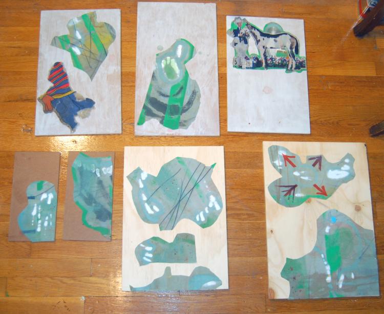 Elisha Sarti - Work In Progress - 2013