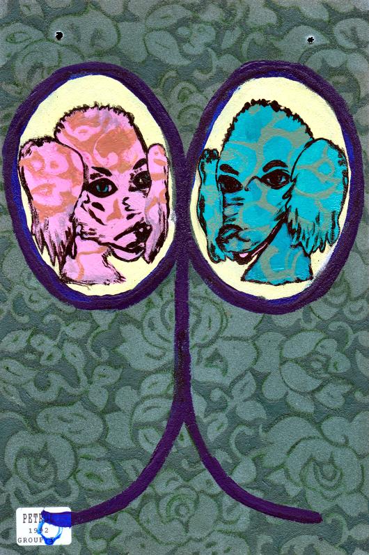 Angela Oaks X Elisha Sarti - Mirror No. 9 - 2013