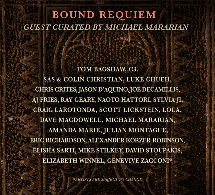 Bound Requiem at Last Rites Gallery