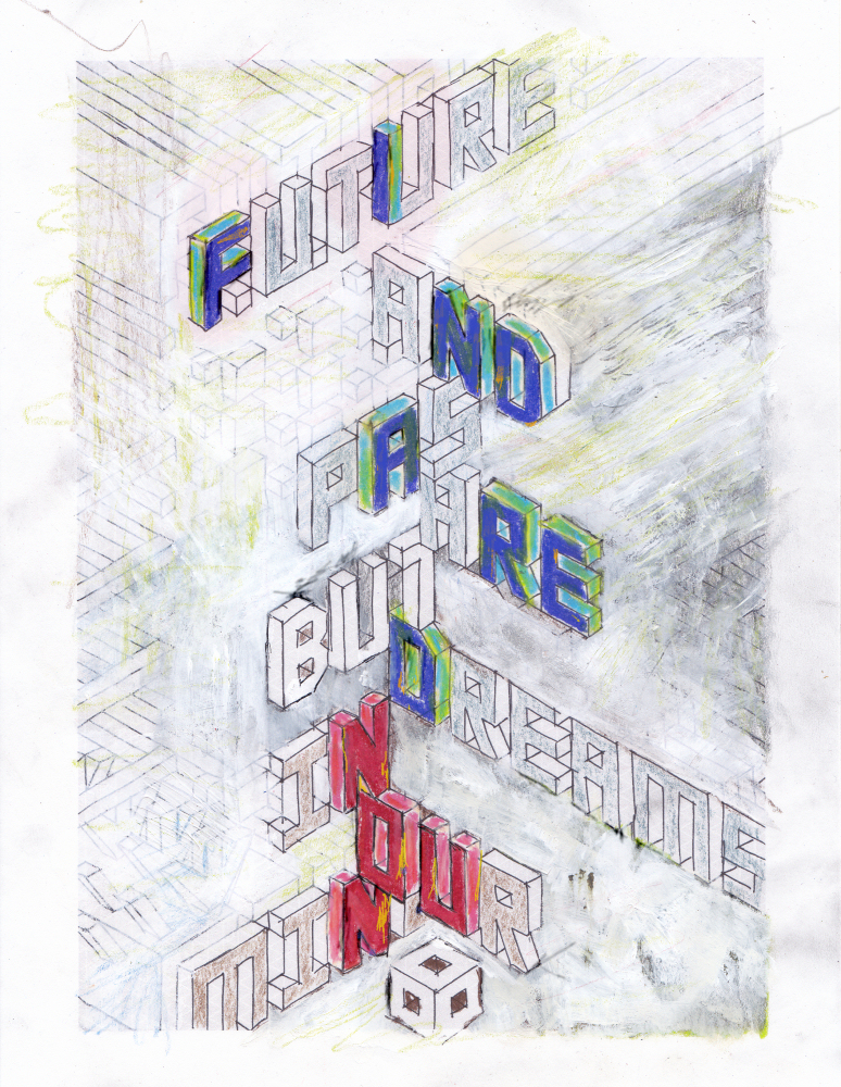 Brain Hart x Elisha Sarti - New Found a Red Noun - 2012