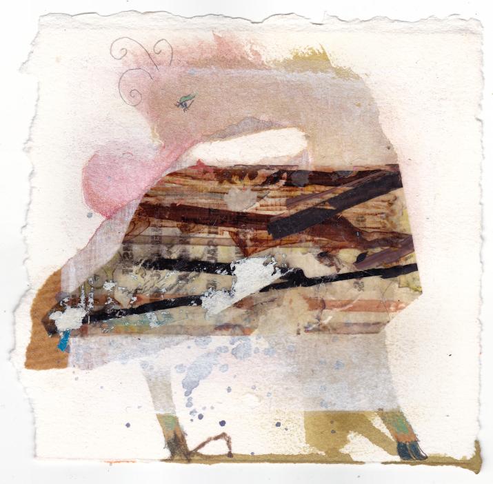 Elisha Sarti - Hoofed Bazooka Bird - 2012