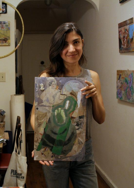 Elisha Sarti - Work In Progress - 2014