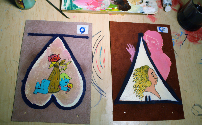 Angela Oaks X Elisha Sarti - Mirror Numbers - Work in Progress