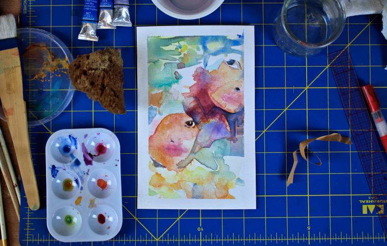 Elisha Sarti - Artwrk in Progress - 2019