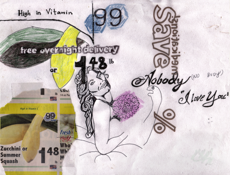 No Body I Love You - Sketch - Elisha Sarti - 2011