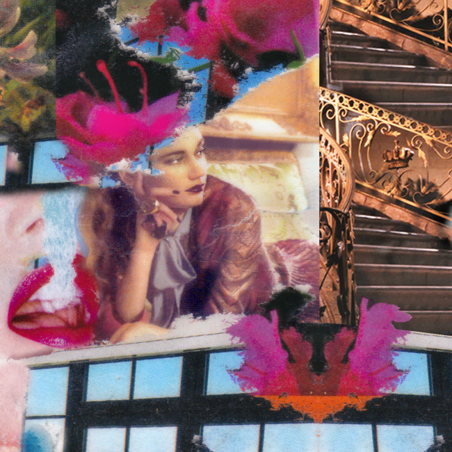 Elisha Sarti - Rose Thorn Feather - 2016