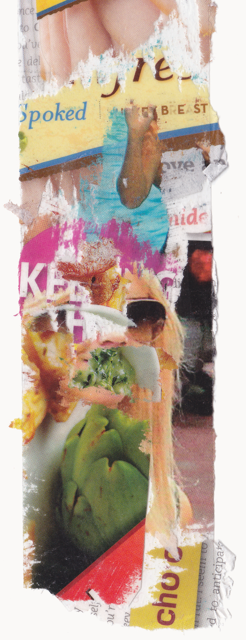 Elisha Sarti - Well Spoken - Collage 2012