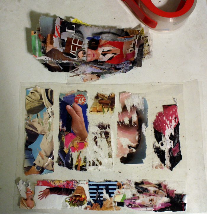 Elisha Sarti - Works in Progress - 2014